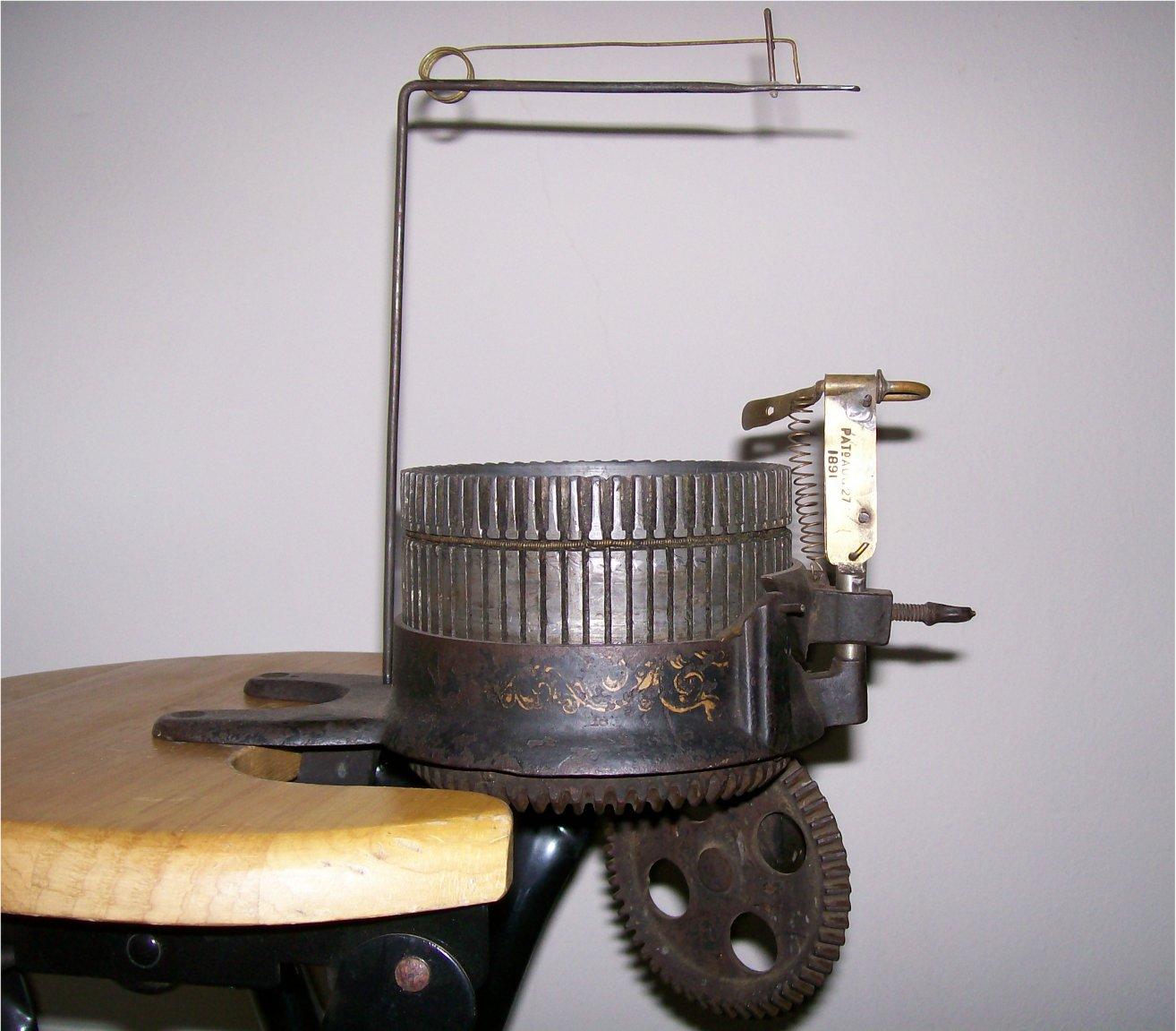 Вязальная мельница, она же мини-вязальная машина - Клуб Осинка 41
