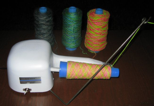 yarn baller machine