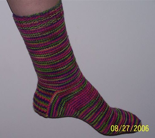 Knitted Socks Pattern : Sock Knitting Patterns for Sale