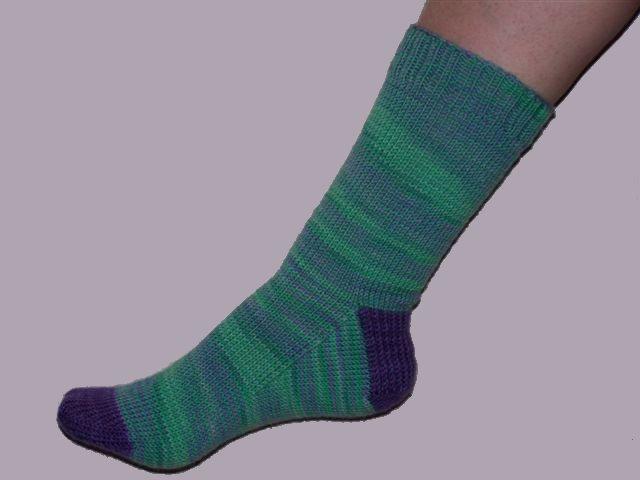 Knitting Patterns Heel Less Socks : Sock Knitting Patterns for Sale