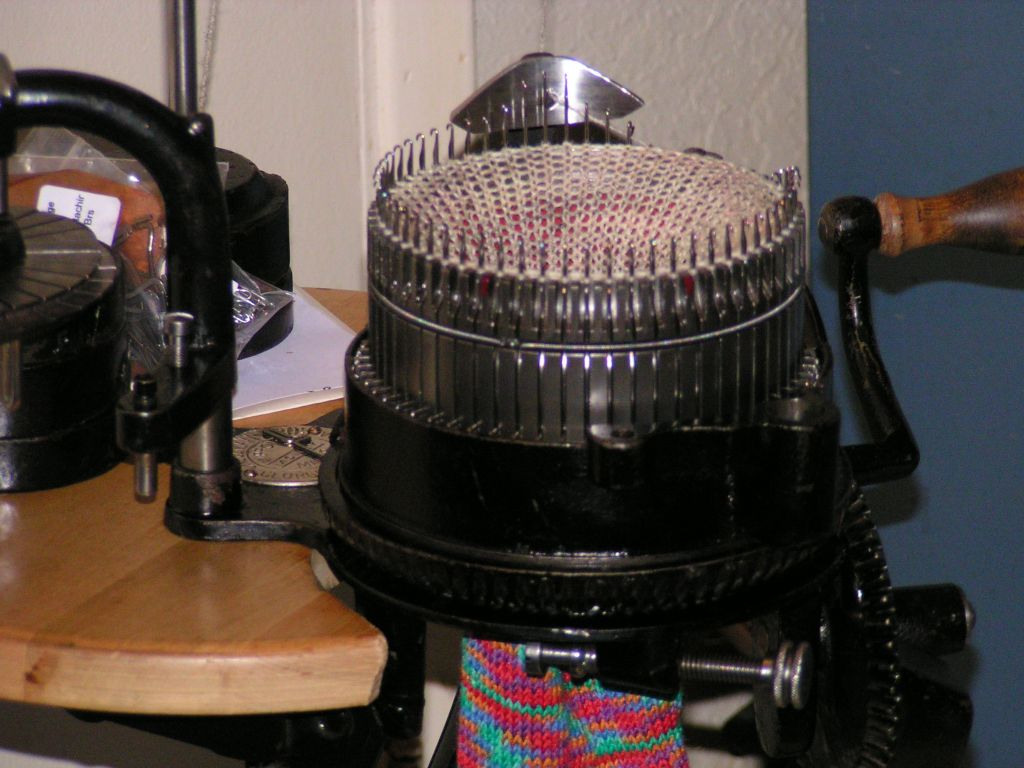 new sock knitting machine