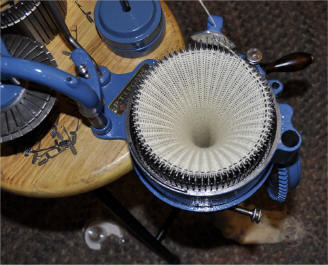 legare knitting machine sock