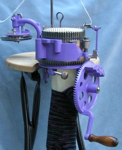 auto knitter sock machine