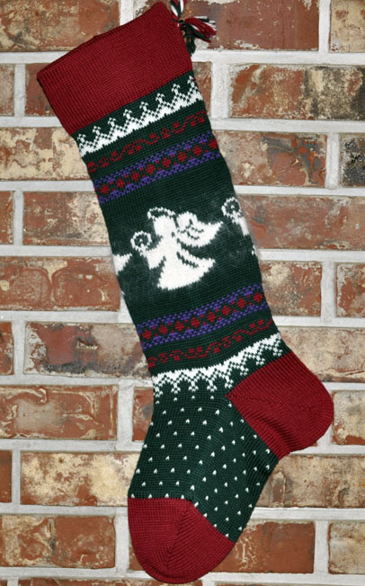 Knit Christmas Stocking Pattern With Name