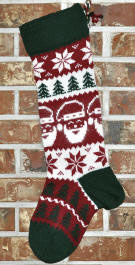 Santa Stocking - Without Year