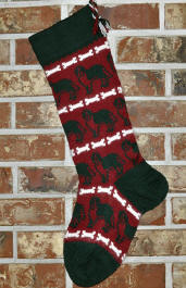 St. Bernard Stocking